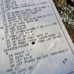 """Ein Auszug des BASIC-Listings zu """"Mauer einwerfen"""". Wirf den Ball gegen die Wand. (Bild: André Eymann)"""