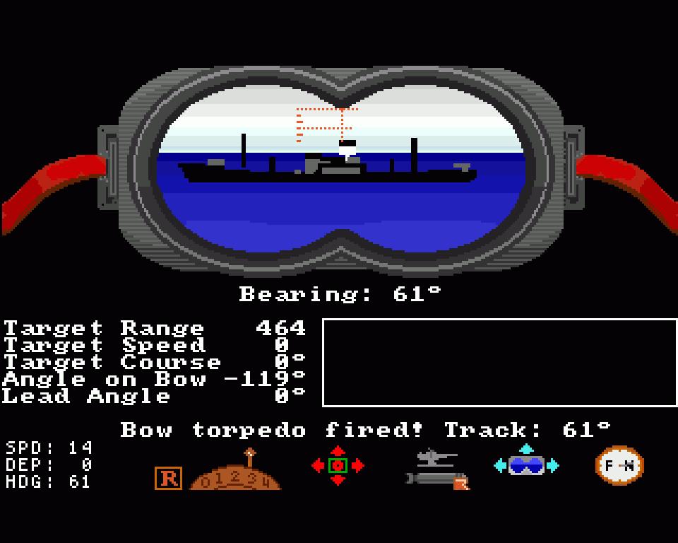Sid Meiers U-Boot Simulation Silent Service war aufgrund des Spielinhaltes zeitweilig indiziert. (Bild: Microprose)