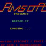 Die Ladebildschirm von Bridge-It. (Bild: Amsoft)