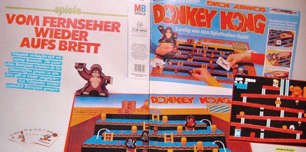Donkey Kong in echtem 3D. Wie gut funktioniert die Brettspiel-Umsetzung eines Videospiels? (Bild: MB)