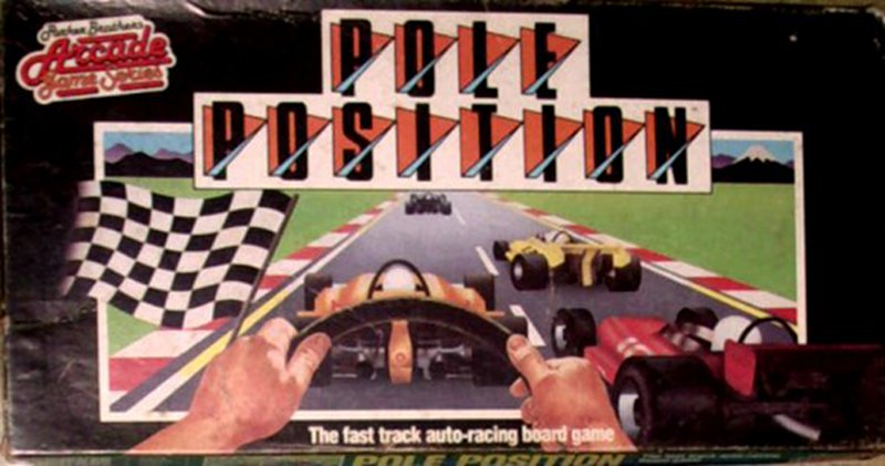 Verpackung des Pole Position Brettspiels. (Bild: Parker Brothers)