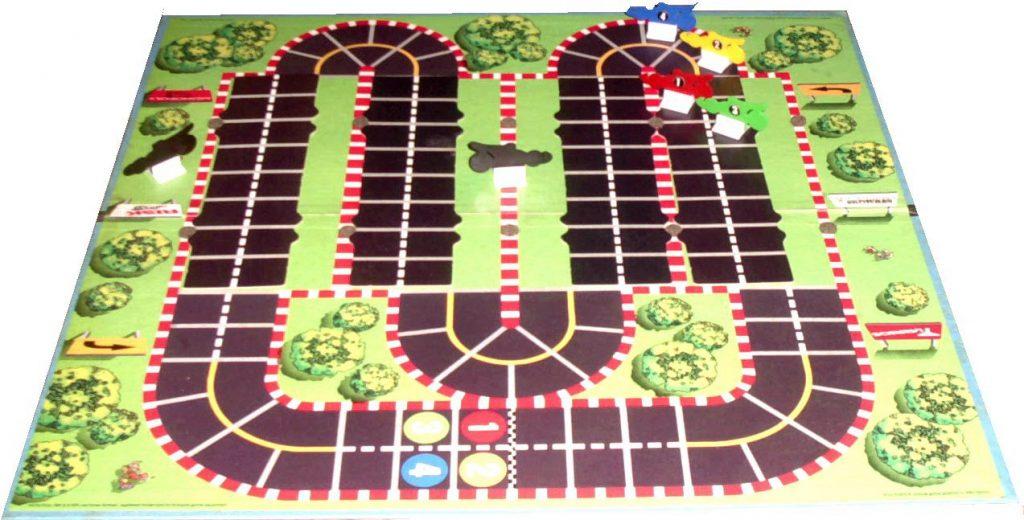 Das Brettspiel zu Pole Position. (Bild: Michael Braun)