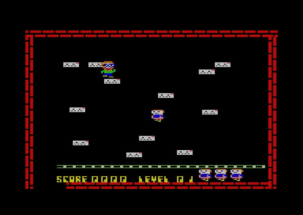 Der erste Level von Electro Freddy ist noch überschaubar. (Bild: Amsoft)