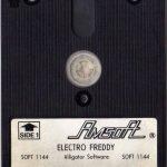 Amsoft-Disc zu Electro Freddy. (Bild: Amsoft)