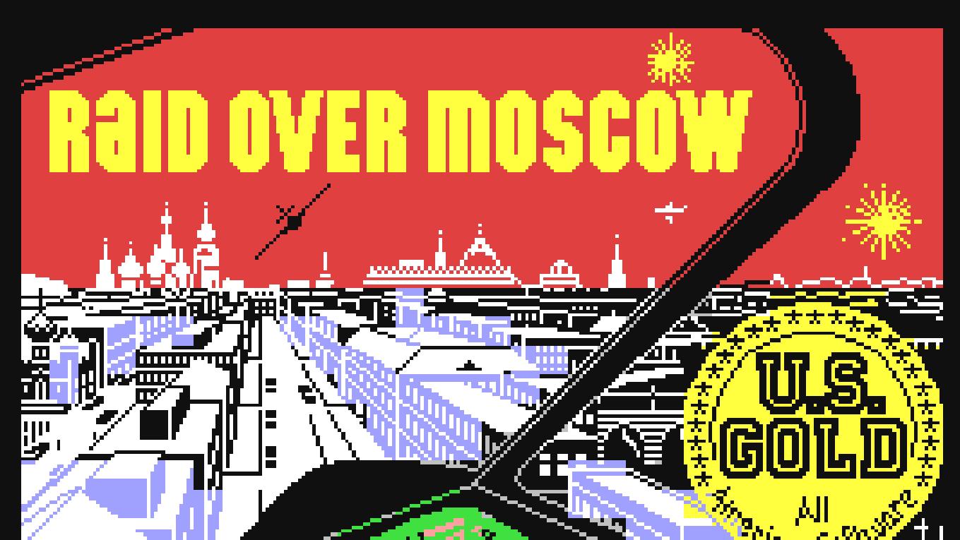 Raid over Moscow für den Commodore 64 - Die Russen kommen