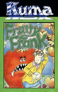 Das Cover der englischen Kassette zu Fruity Frank. (Bild: Kuma Computers Ltd.)