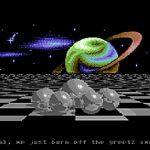 Sound- und Grafikdemos für den Commodore 64 in den Achtziger Jahren. (Bild: Guido Frank)