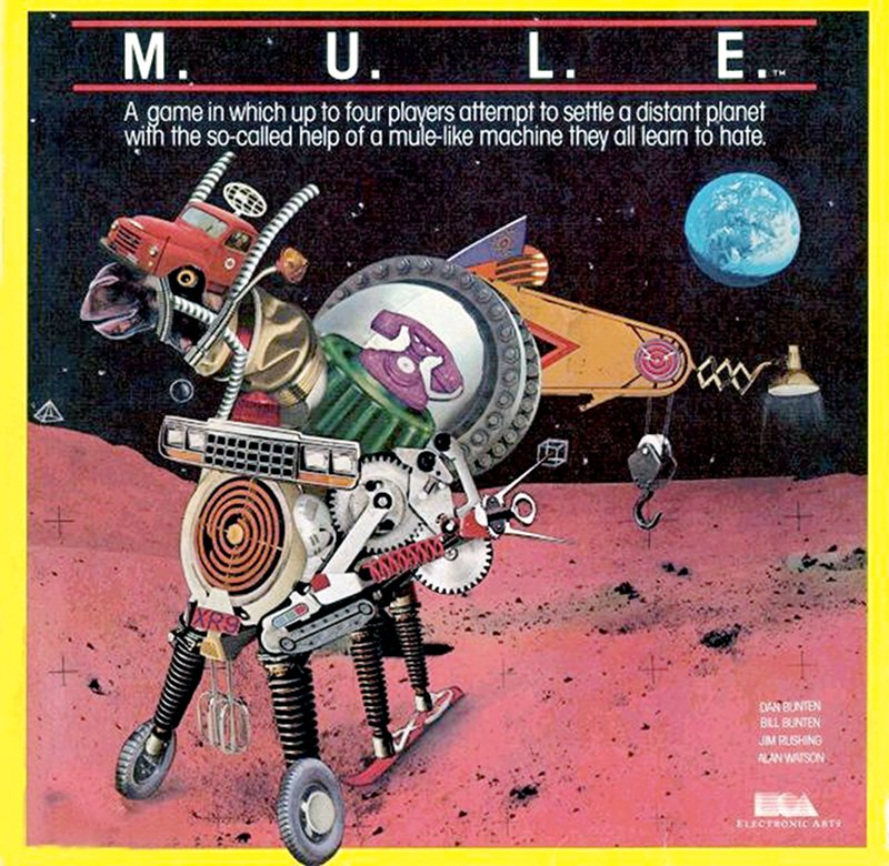 M.U.L.E. wurde 1983 von Dan Bunten programmiert und durch Electronic Arts vertrieben. (Bild: Electronic Arts)
