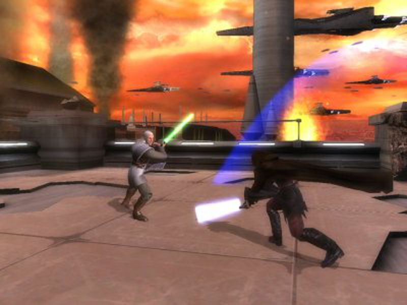Star Wars Episode III - Revenge Of The Sith für PlayStation 2 von 2005. (Bild: Sony)