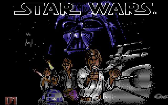 Die Entwickler der C64-Version von Star Wars waren: Daniel James Gallagher, Ian Martin und Joe Booth. (Bild: Atari)