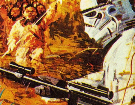 Aus dem Parker Prospekt vom Frühjahr 1983: Revenge of the Jedi - Game I. (Bild: Parker)