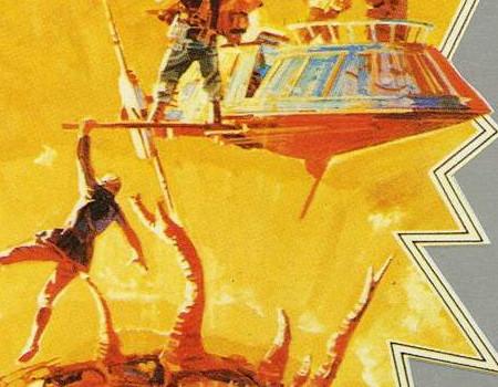 Aus dem Parker Prospekt vom Frühjahr 1983: Revenge of the Jedi - Game II. (Bild: Parker)