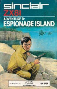 Das Cover von Espionage Island (Bild: Artic)