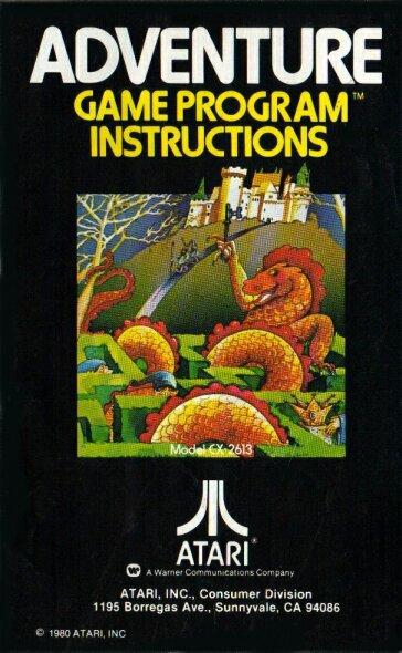 Adventure von Atari für das VCS kam 1980 in den Handel. (Bild: Atari)