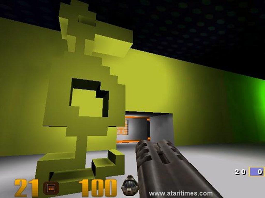 Ataris Adventure als MOD für Quake 3. (Bild: www.ataritimes.com)