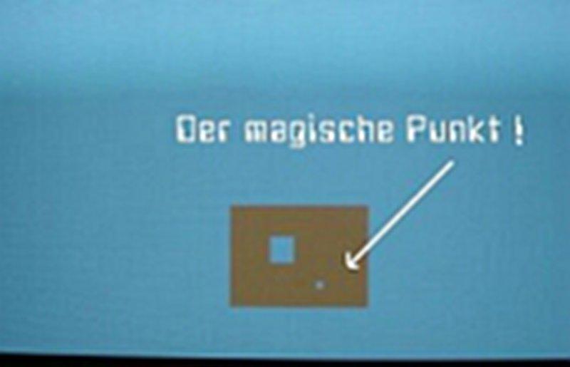 Adventure-Tipp 3: Der magische Punkt. (Bild: Guido Frank)
