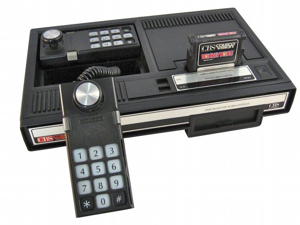Die ColecoVision-Konsole wurde 1983 zusammen mit dem Spielhallenhit Donkey Kong verkauft. (Bild: Torsten Othmer)
