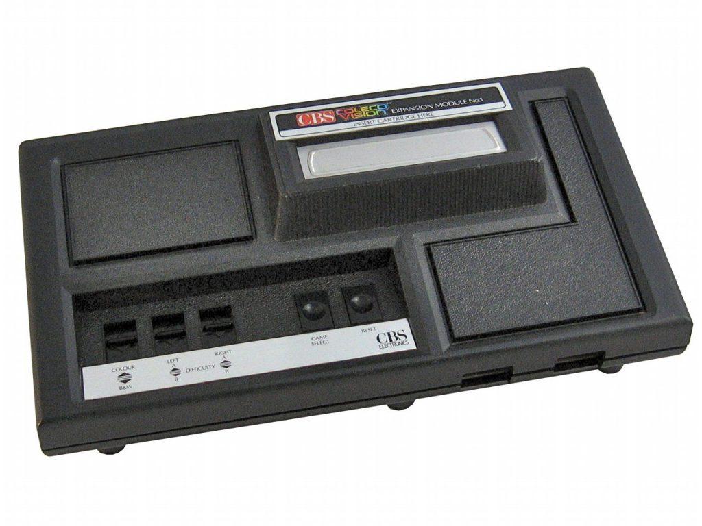 Dank des Ausbaumoduls #1 konnte die ColecoVision-Konsole alle auf dem Markt befindlichen Atari VCS 2600 Module abspielen. (Bild: Torsten Othmer)