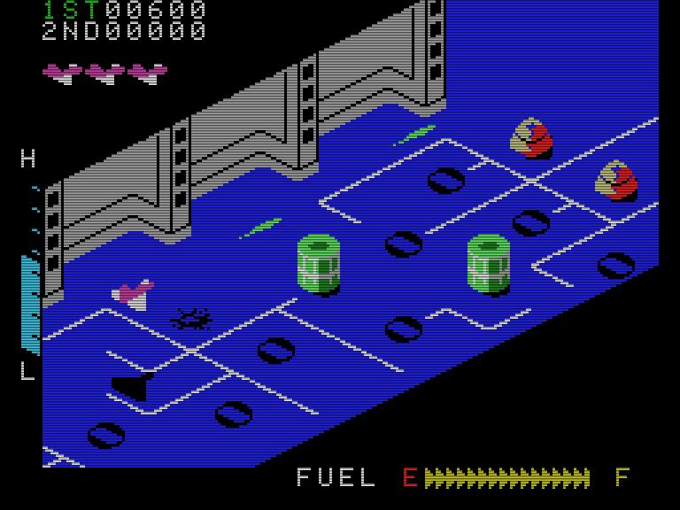Zaxxon von SEGA war ein weiterer Spielhallenhit, den Coleco als Lizenztitel auf dem ColecoVision erfolgreich verkaufen konnte. Die ColecoVision-Version des Spiels gehört zu den besten Umsetzungen des Titels seinerzeit. (Bild: www.colecoboxart.com)