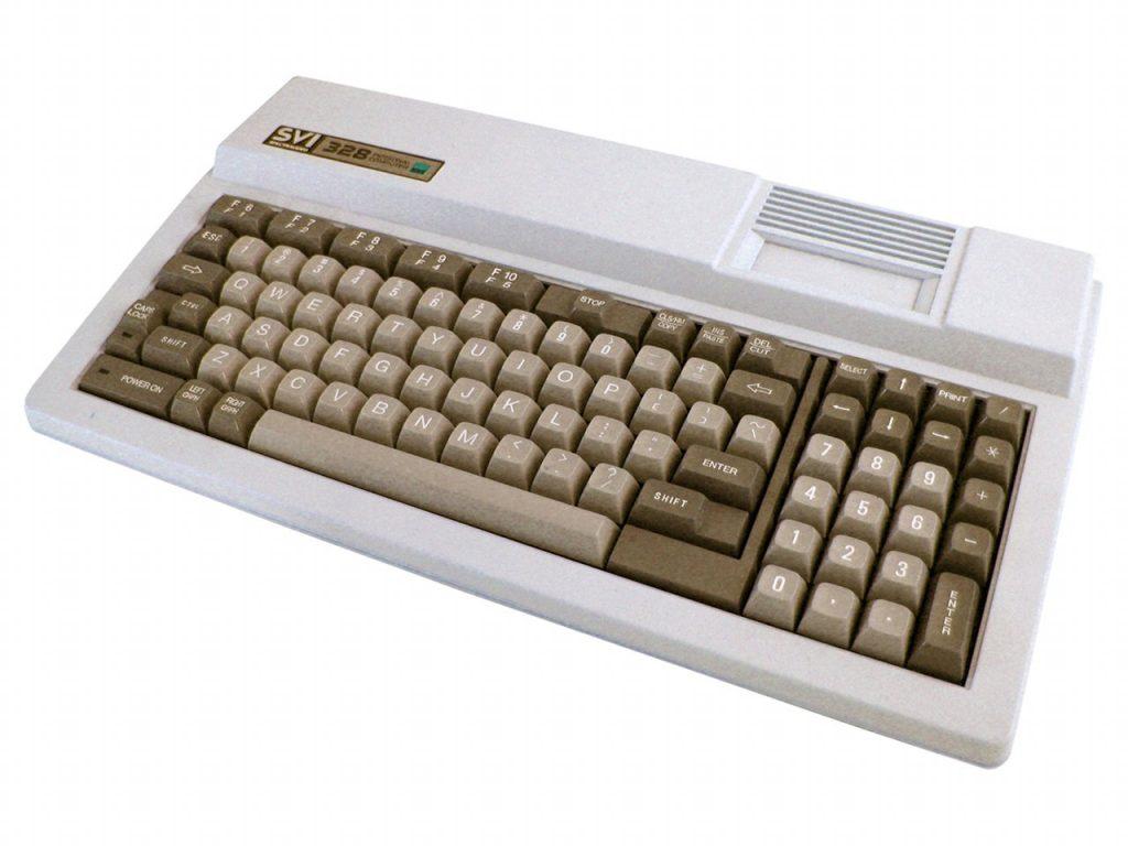 Der Spectravideo SVI-328 Computer war ein Vorgänger des MSX Standards. (Bild: Torsten Othmer)
