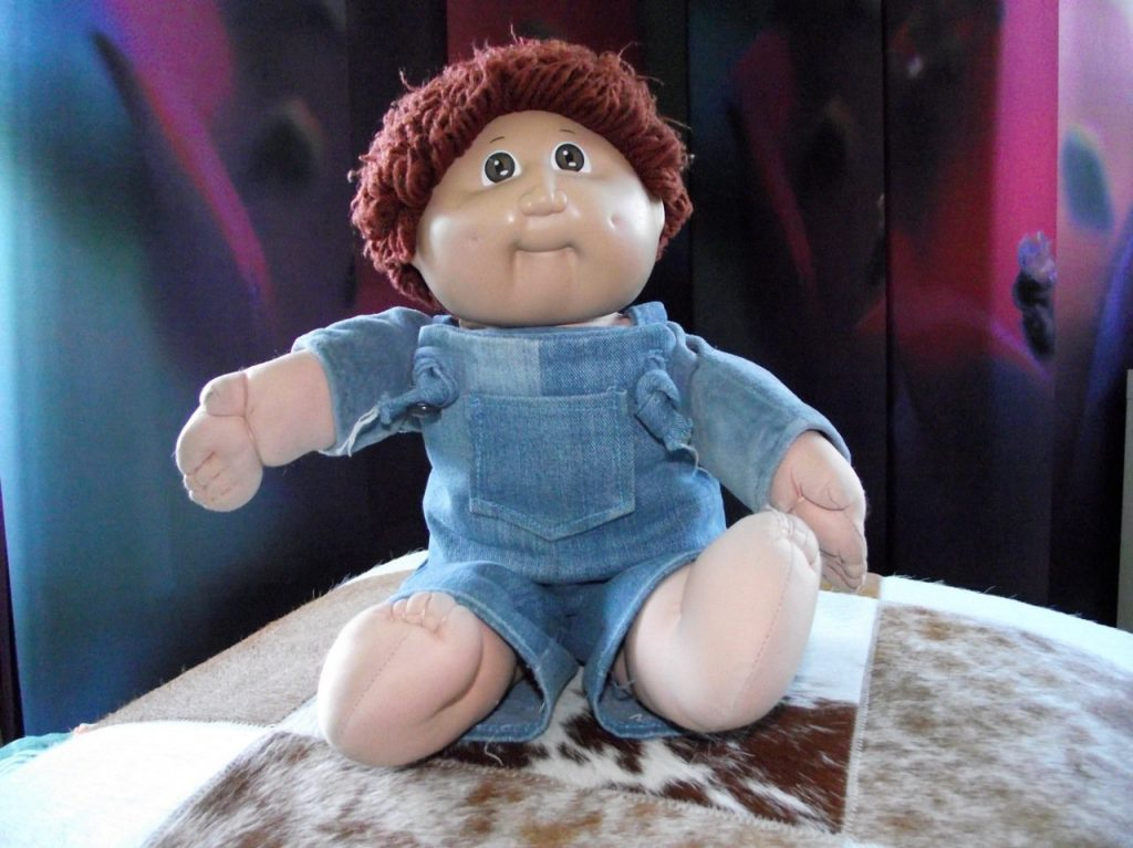Eine Original Cabbage-Patch-Kids Puppe. (Bild: Torsten Othmer)
