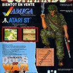 Elite Systems verzückte 1989 Amiga-Besitzer mit besonders originalgetreuen Adaptionen von Ghosts 'N' Goblins, Space Harrier und natürlich auch Commando, das den Joystick-Rekruten endlich sämtliche Spielstufen des Automaten bescherte. (Bild: Elite)