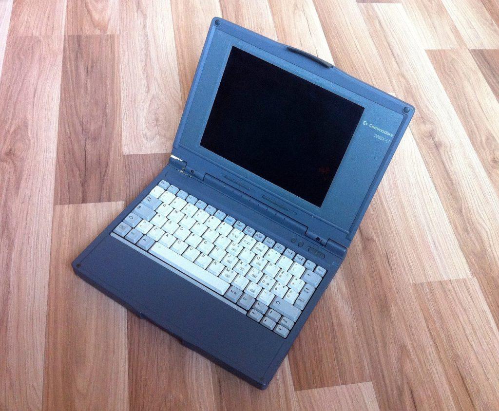 Auf dem Commodore 386 SX-LT konnte Windows 3.1 betrieben werden. (Bild: Domingo Fivoli)