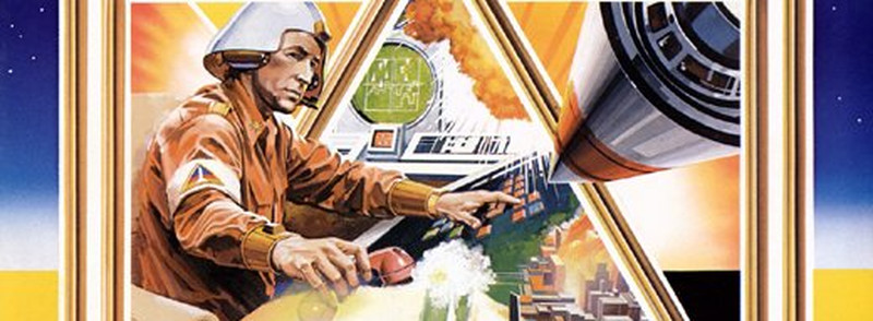 Der Finger auf dem roten Knopf. Missile Command kommt direkt aus dem kalten Krieg. (Bild: Atari)