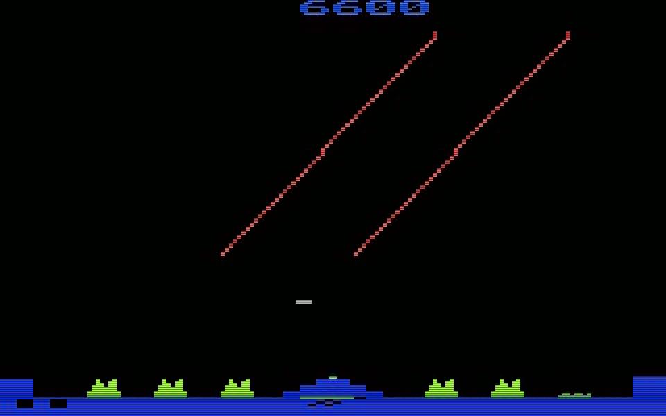 Die VCS-Version von Missile Command wurde von Rob Fulop programmiert. Fulop entwickelt später für Imagic den Shooter Demon Attack. (Bild: Atari)