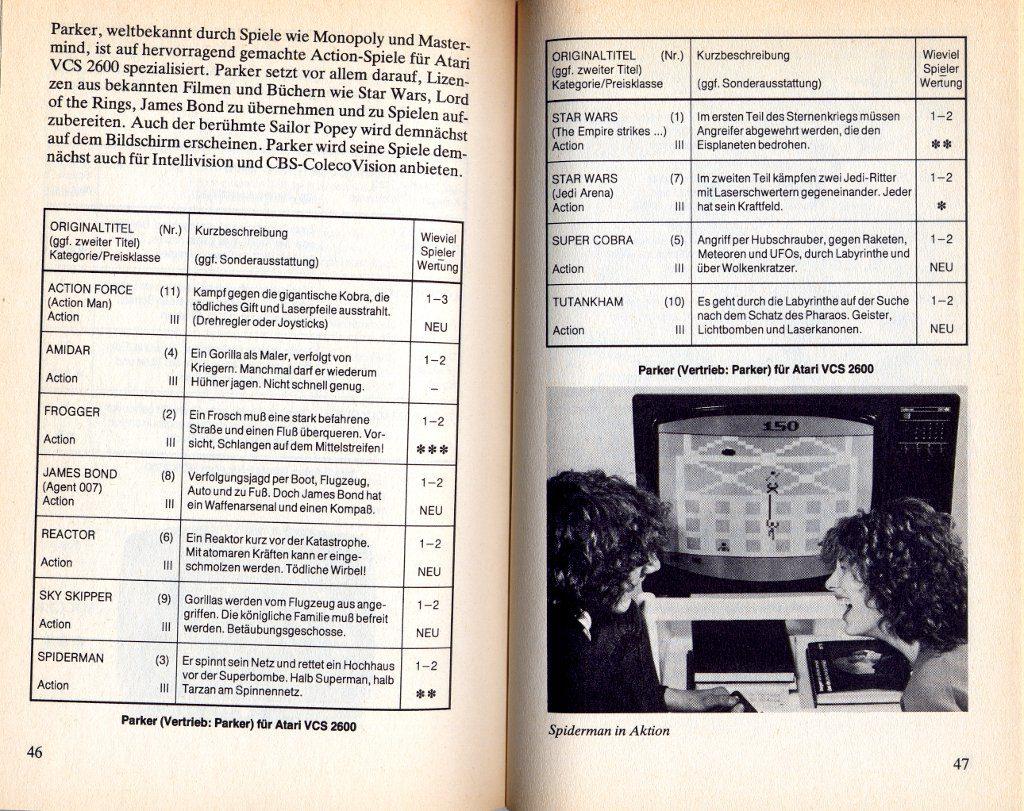 Leseprobe aus dem Kapitel Konsolen und Spiele - Atari VCS 2600. (Bild: Heyne Verlag)