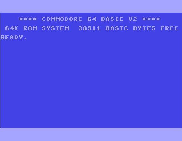 Auch der Commodore 64 mit 64 Kilobyte RAM bot nur 38.911 Bytes unter BASIC an. (Bild: Torsten Othmer)