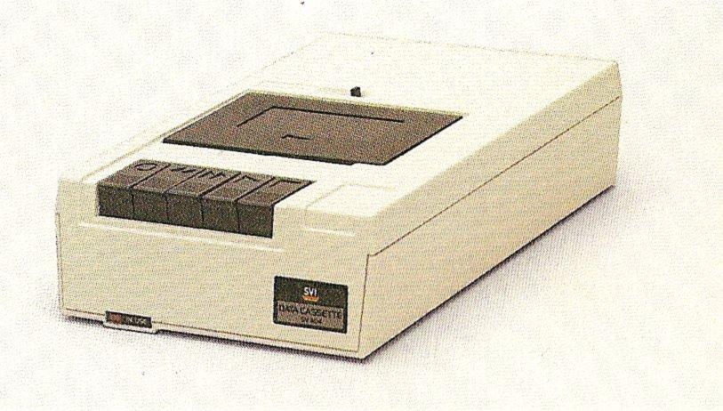 Der passende Kassetten-Recorder für den Homecomputer SVI-328 hatte die Bezeichnung SV-904 Stereo Data Cassette. (Bild: Torsten Othmer)