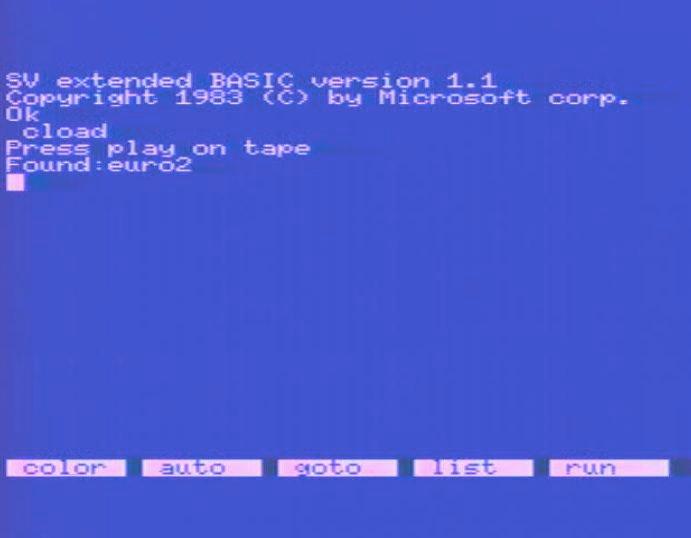 Wurde ein Programm auf der Kassette erkannt, gab der BASIC-Interpreter die Meldung Found: [Programmname] aus. (Bild: Torsten Othmer)