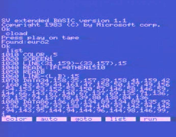 Das Original-Listing meines Erdkunde-Programms von 1984. (Bild: Torsten Othmer)