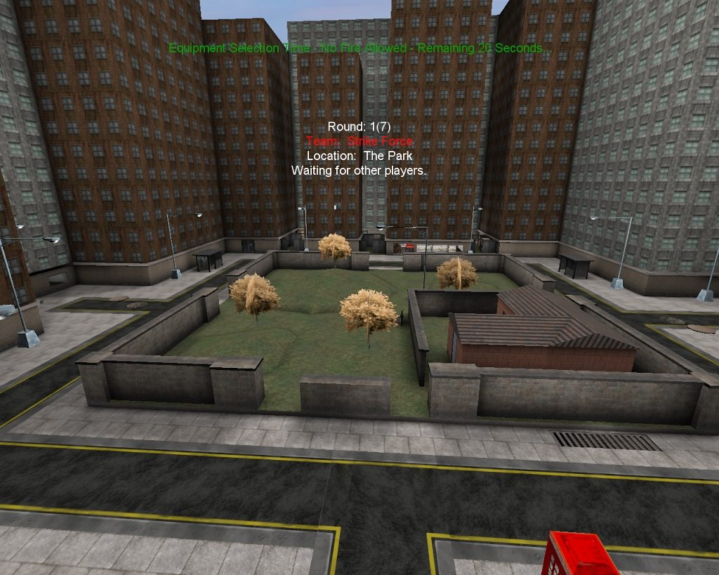 Strike Force 1.81 - Map: The Park. (Bild: André Eymann)
