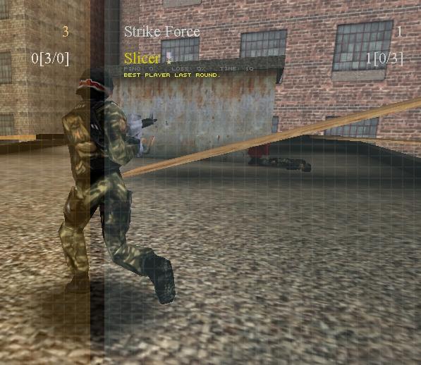 Strike Force wins - Map: Industrial Classic. (Bild: André Eymann)