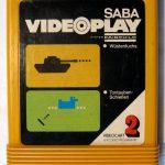 Videocart Nr. 2: Spielmodul mit den Spielen Wüstenfuchs und Tontauben-Schießen. (Bild: Torsten Othmer)