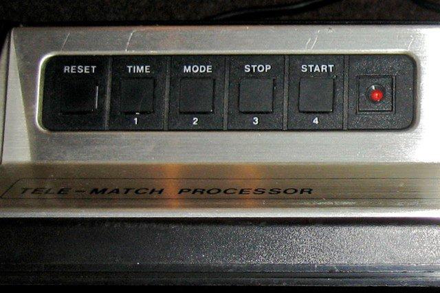 Bedientastatur des ITT Telematch Processor. (Bild: Torsten Othmer)
