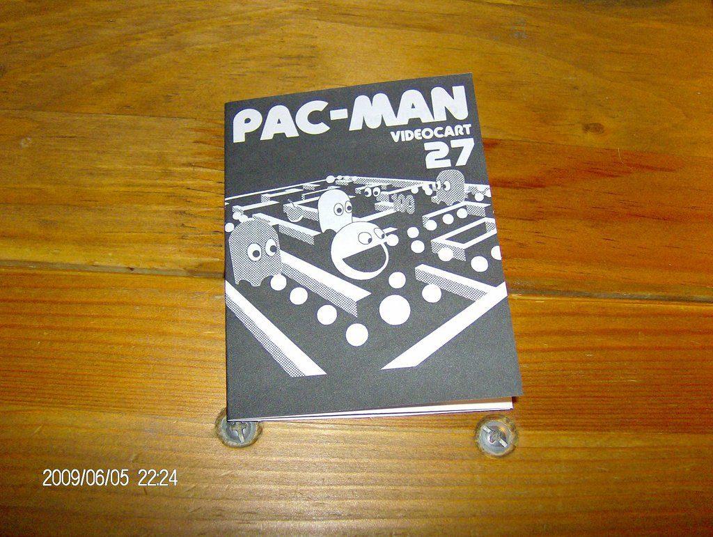 Anleitung für die Pac-Man Version der Videoplay-Konsole. (Bild: Fredric Blåholtz)
