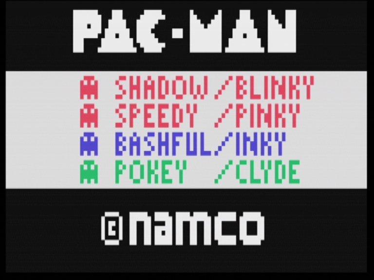 Startbildschirm von Pac-Man für das Channel F System. (Bild: Fredric Blåholtz)