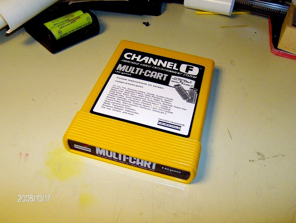 Channel F Multi-Cart. (Bild: Fredric Blåholtz)