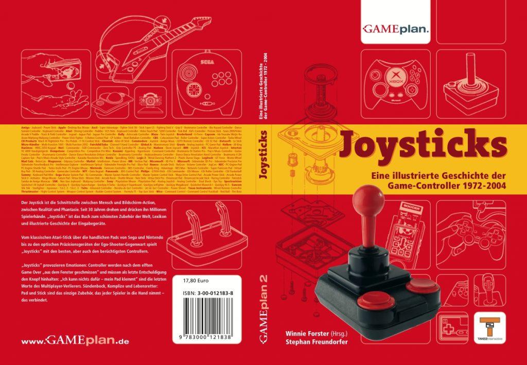 Joysticks aus dem Gameplan-Verlag. (Bild: Winnie Forster)