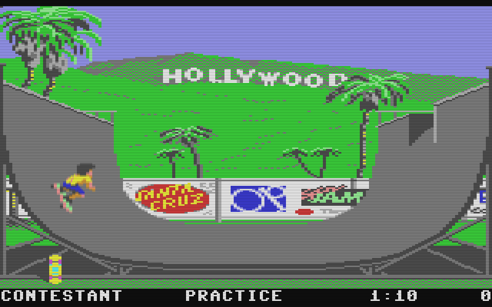 California Games für den Commodore 64. (Bild: Epyx, 1987)