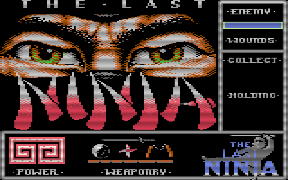 Das Spiel The Last Ninja wurde 1987 von der britischen Softwareschmiede System 3 ins Leben gerufen. (Bild: System 3)