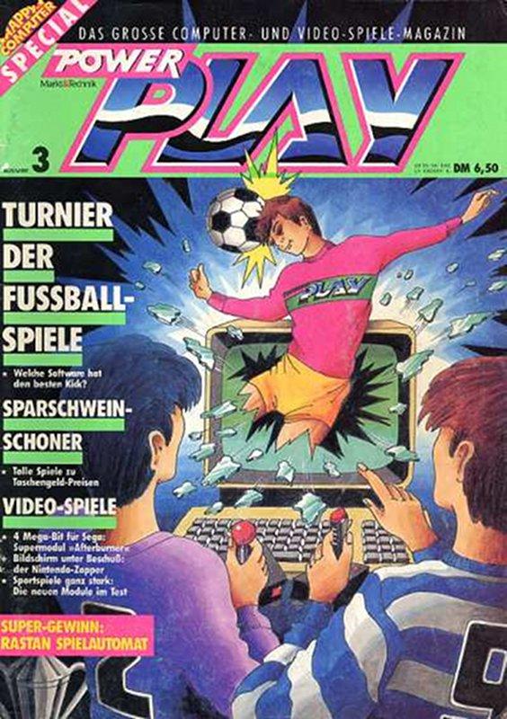 Die Computerzeitschrift Power Play war eine der ersten Zeitschriften über Computerspiele in Deutschland. Das Magazin wurde von Heinrich Lenhardt und Boris Schneider geleitet. (Bild: Future Verlag)