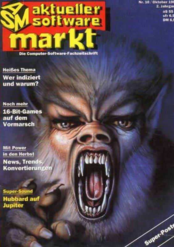 Das Heft ASM (Aktueller Software Markt) gab es ab März 1986. Chefredakteur war Manfred Kleimann. (Bild: Tronic Verlag)