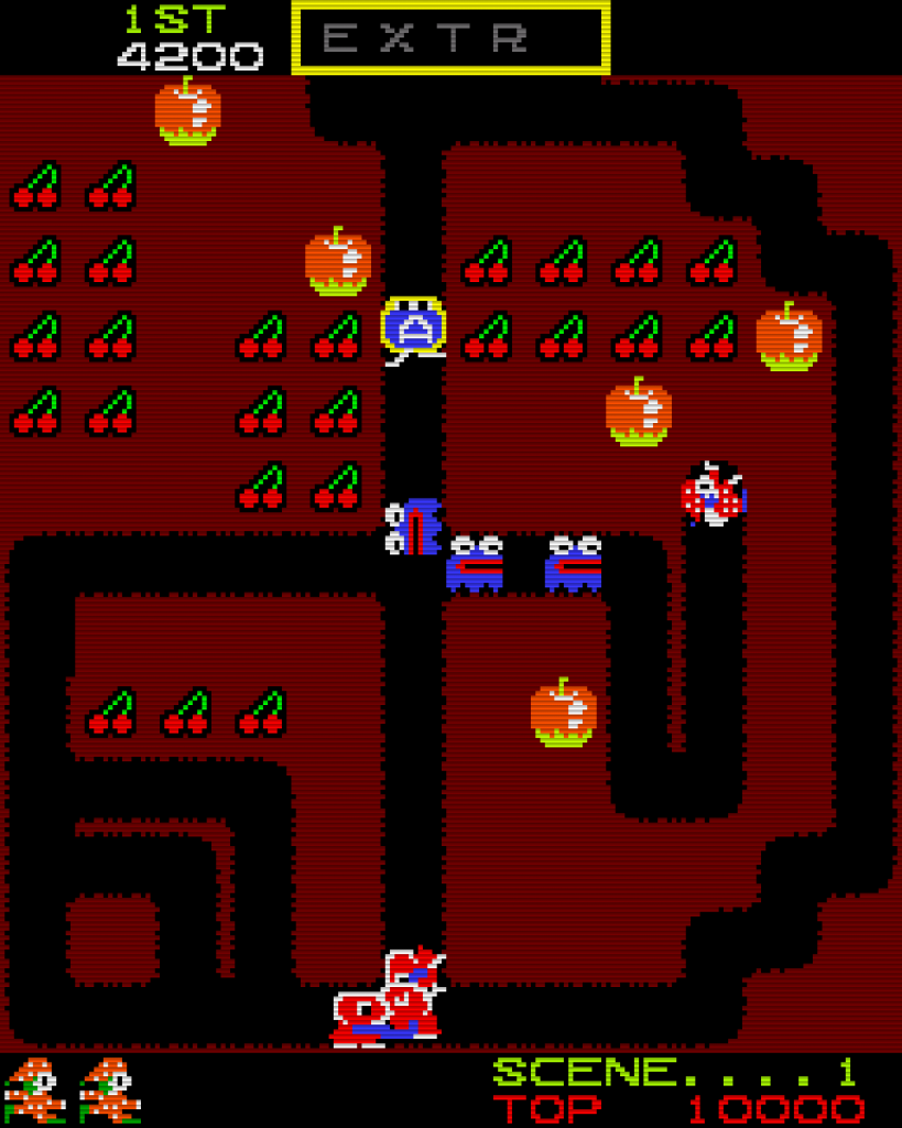Mr. Do! (Bild: Universal/Taito, 1982)