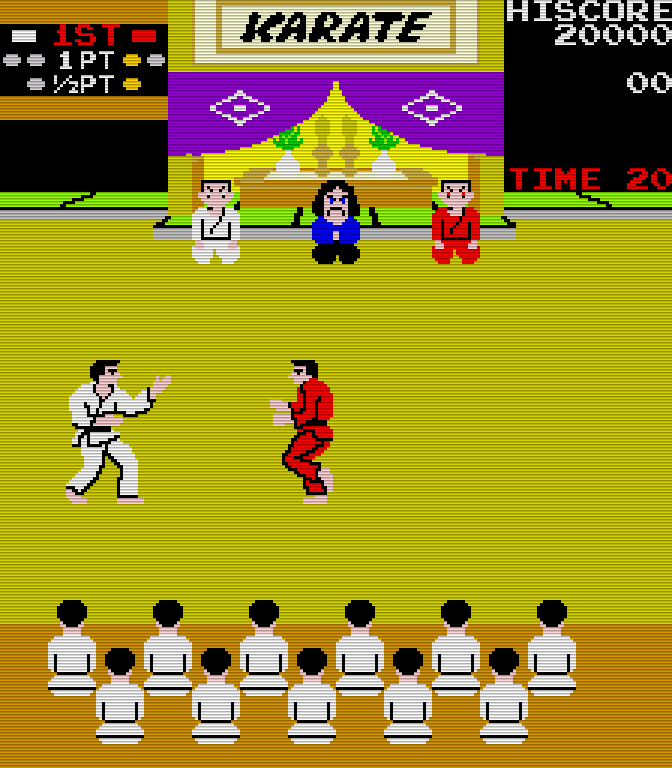 Karate Champ. (Bild: Technos Japan Corporation/Data East, 1984)