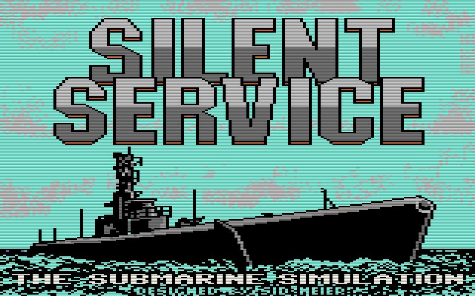 Silent Service. (Bild: U.S. Gold/MicroProse, 1985)