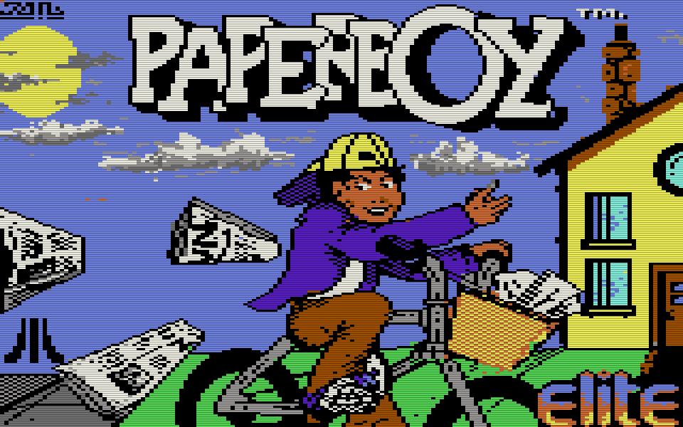 Paperboy. (Bild: Elite/Atari, 1986)